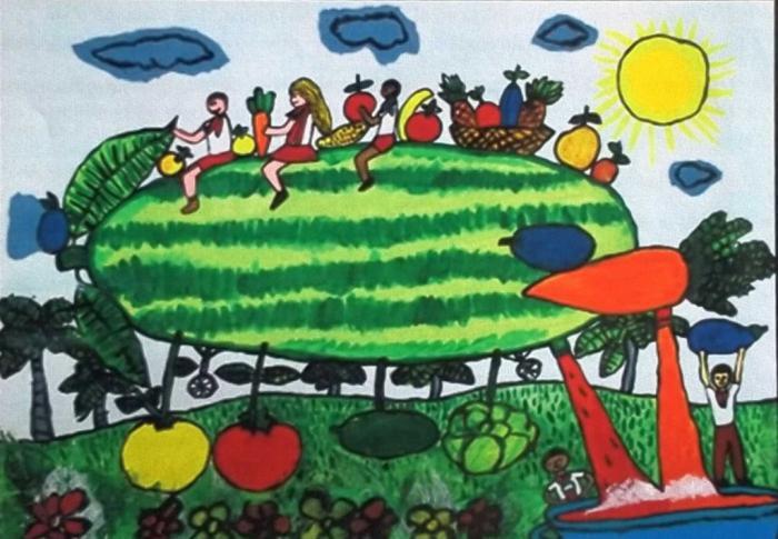 Disegno Di Un Bambino : Un bambino cubano ha vinto il premio internazionale di disegno del